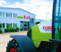 Verkaufsplatz k&h Landmaschinenhandel