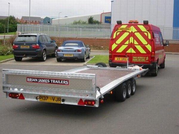 BRIAN James Trailers TT-T-303 Autotransporter Anhänger