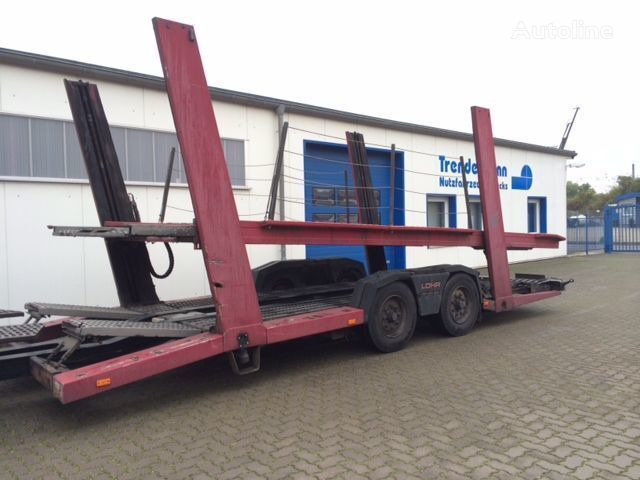 LOHR TA 10/4, 8 x vorhanden Autotransporter Anhänger