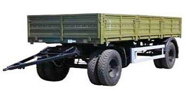 neuer KAMAZ SZAP-8355 Pritschenanhänger