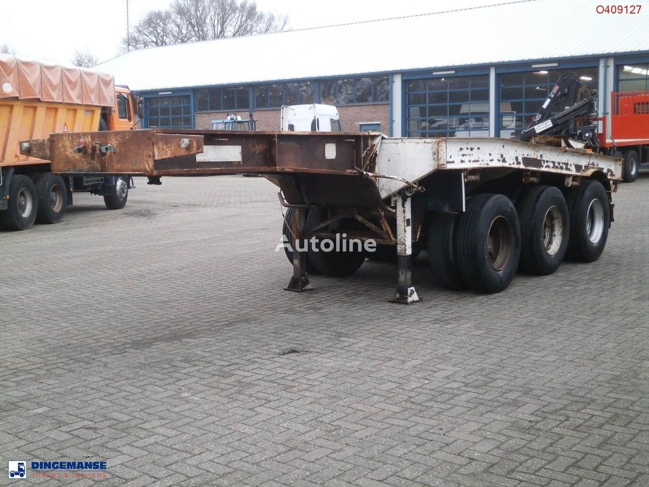 TRAYL-ONA 3-axle dolly trailer / 62000 kg Containerauflieger