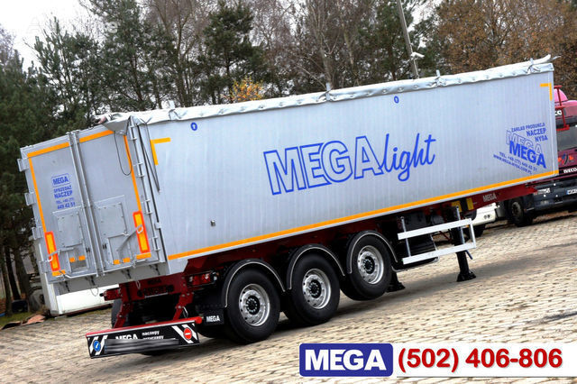 neuer KARGOMIL 42 - 45 m³ Alubox - ULTRA - light only 5,800 kg weight ! READY T Getreidetransporter Auflieger