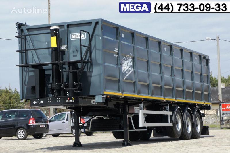neuer MEGA 11,4 m / V = 55 m³ ctalovyy kuzov klapan-dverey / Luk dla zerna! Getreidetransporter Auflieger