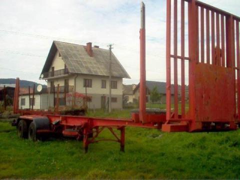 IWTHL SCHLUTUP FS 4020 Holztransporter Auflieger