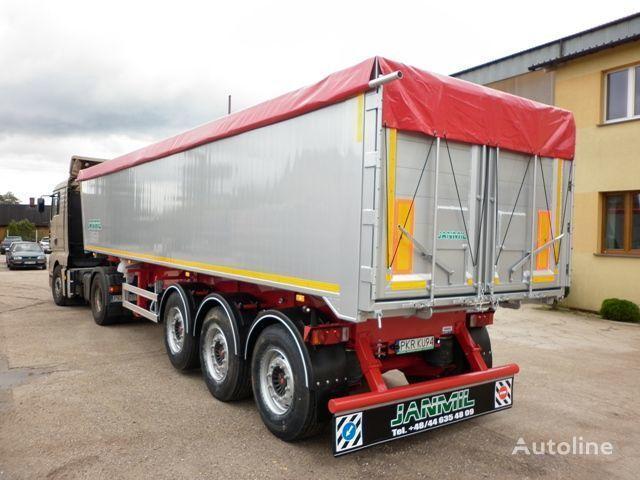neuer JANMIL 50 cbm ALU, SAF -LIGHT 5800 kg !!! Kippauflieger