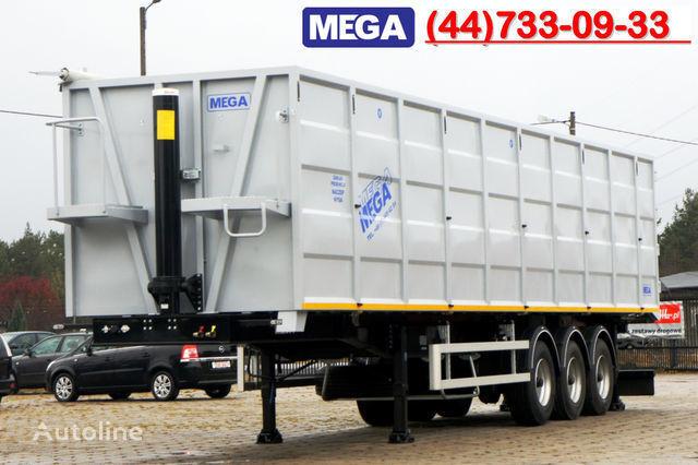 neuer KARGOMIL 70 m³ / 13,0 m LONG FOR SCRAP / IRON DOOR / STEEL Kippauflieger