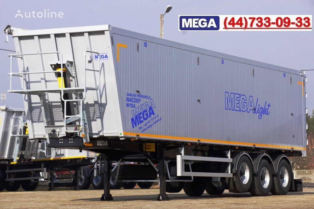 neuer MEGA 10,4 m / 55 M³ ALUM TIPPER