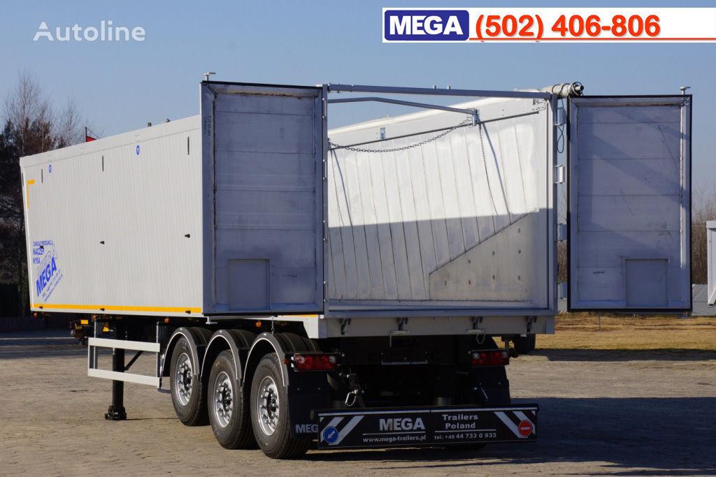 neuer MEGA 10,4 m / 55 M³ ALUM TIPPER SUPER LIGHT 6,2 T ! BRAND NEW ! Kippauflieger