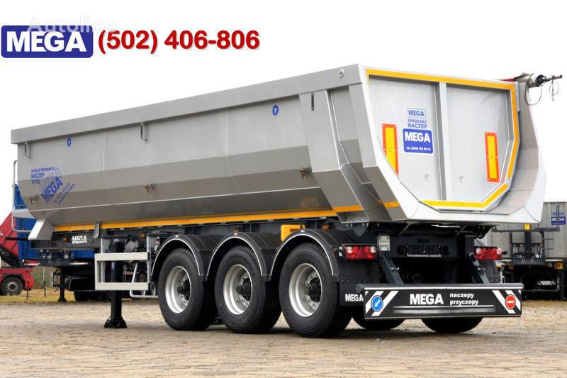 neuer MEGA 28 M³ - DOMEX KIPPER FUR GEROLE ! BEREIT & NEU ! Kippauflieger