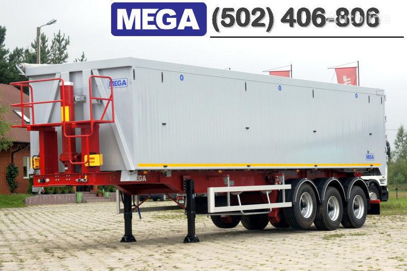 neuer MEGA 50/11300 KD - camosval 50 kub., pama k tyagachu 6x4, VYSOTA 3,00 m Kippauflieger