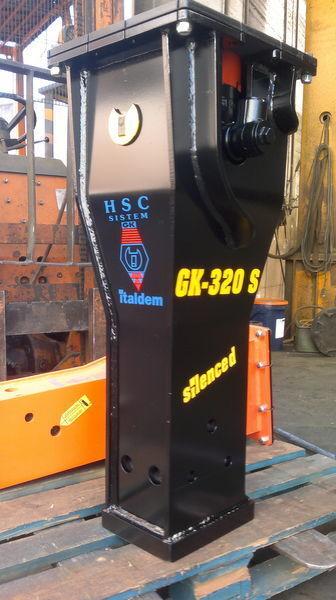neuer ITALDEM GK 320S Hydraulikhammer
