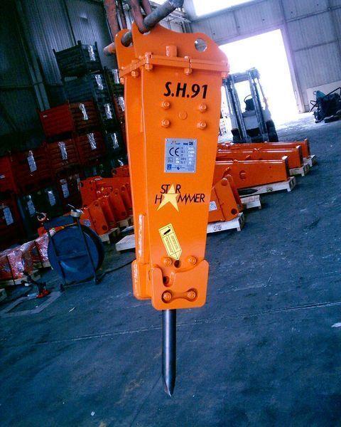 neuer STAR Hammer SH 91 Hydraulikhammer
