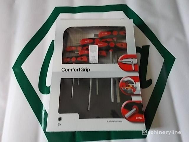 Zestaw kluczy sześciokątnych z rękojeścią ComfortGrip, 6-cz. KFZ-Werkzeug