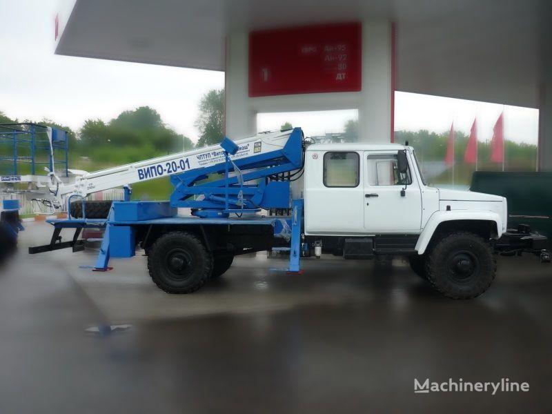 GAZ Sadko Arbeitsbühne-LKW