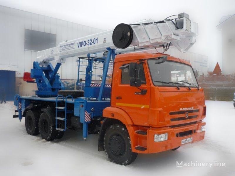 KAMAZ VIPO-32  Arbeitsbühne-LKW
