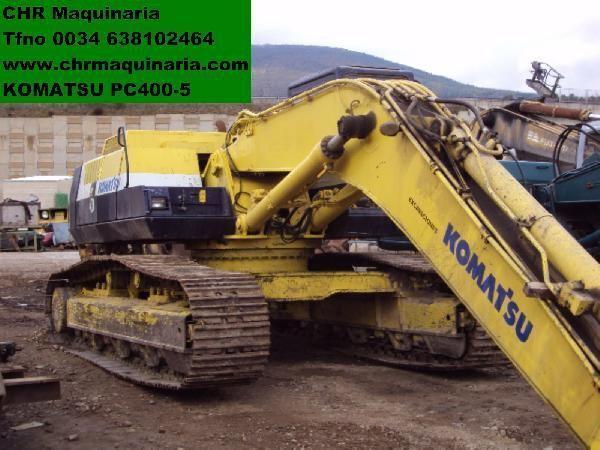 KOMATSU PC400-5 Kettenbagger