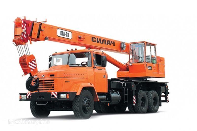 KRAZ 65053 (KTA-28)  Kranwagen