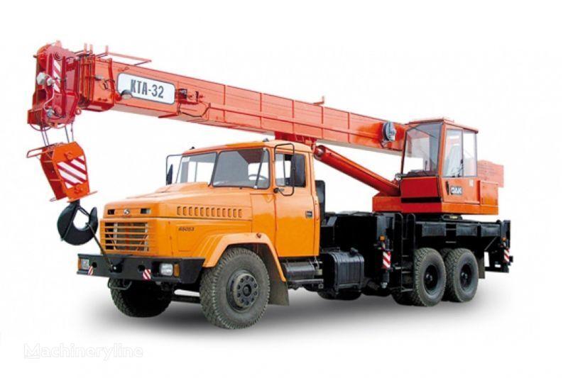 KRAZ 65053 (KTA-32)  Kranwagen
