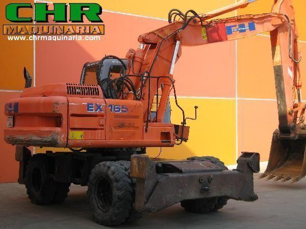 FIAT-HITACHI EX165W.3 Mobilbagger