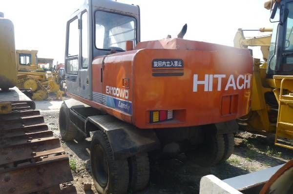 HITACHI EX100WD Mobilbagger