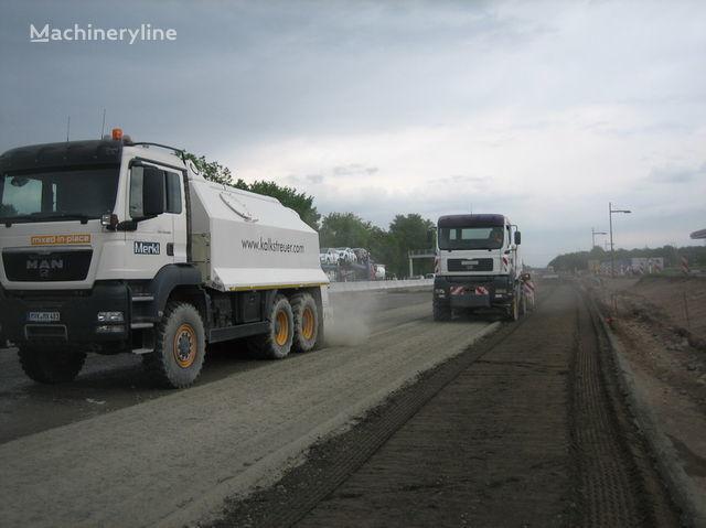 neue MAN amag cement spreader MAN TGS 33.440 - 6x6 Recycler
