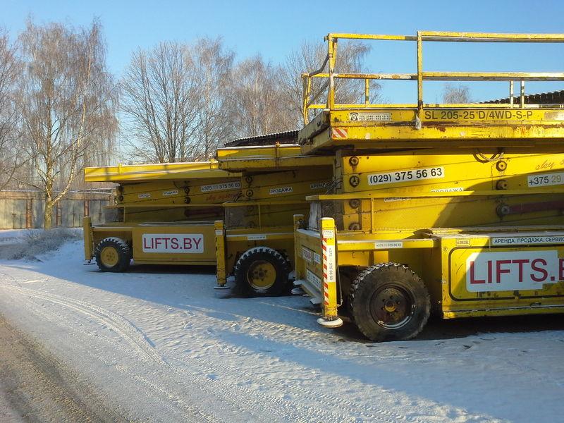 Liftlux 205-25  22.5m  CENA ZA 3 sht  4*4 Scherenbühne