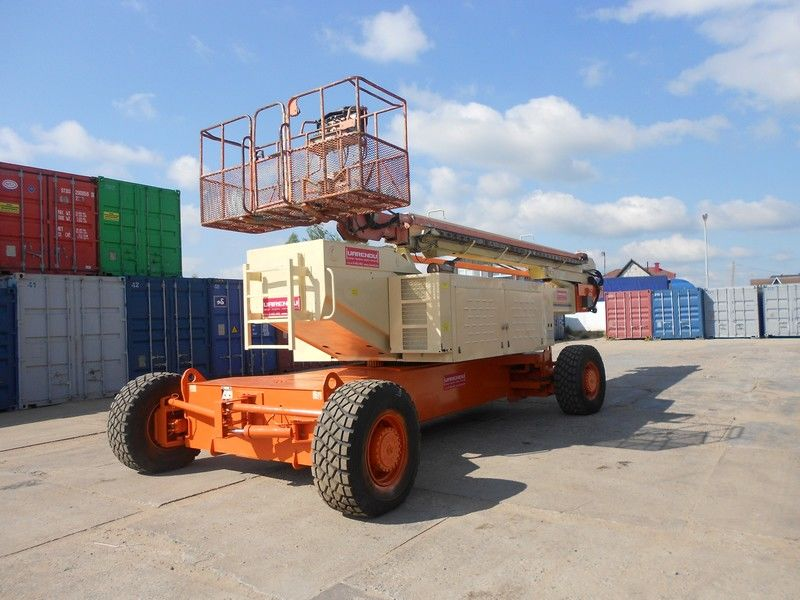 JLG 150HAX, Diesel, 4x4, 47.7m Teleskopbühne