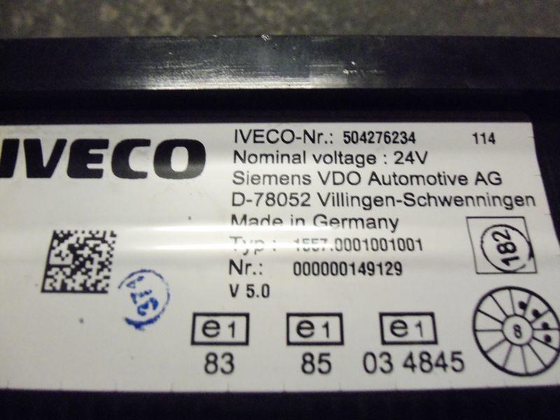 IVECO EURO5 instrument panel cluster 504276234, 504226363, 504025358, 504156164, 504156187 Armaturenbrett für IVECO Stralis Sattelzugmaschine