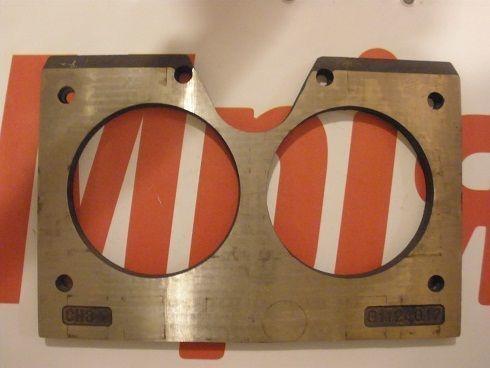 MECBO Iznosostoykie (plity treniya) Brillenplatte für Betonpumpe