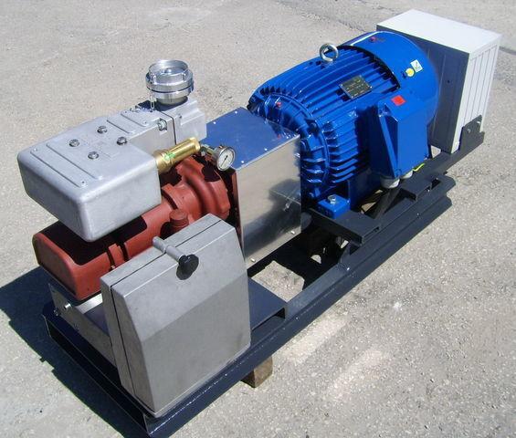 Druckluftkompressor für CG80 GHH RAND z silnikiem elektrycznym Tankauflieger