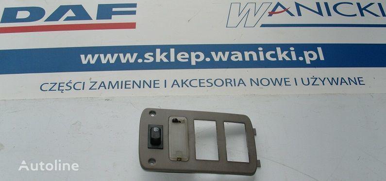 DAF Panel tylny, kontrolka, sterownik ogrzewania WEBASTO, COVER PLATE WEBASTO Ersatzteile für DAF Cf 65, 75, 85 Sattelzugmaschine
