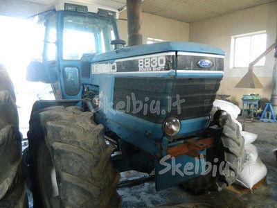 spare parts /b/u zapchasti Ersatzteile für FORD 8830 Traktor