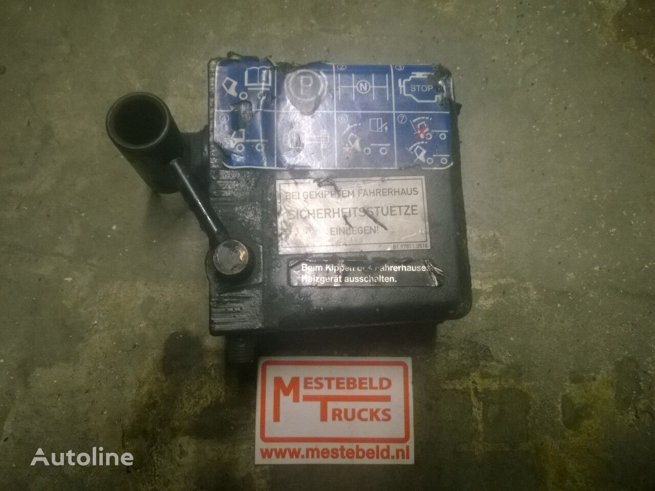 Cabinekantelpomp Ersatzteile für MAN Cabinekantelpomp TGL Sattelzugmaschine