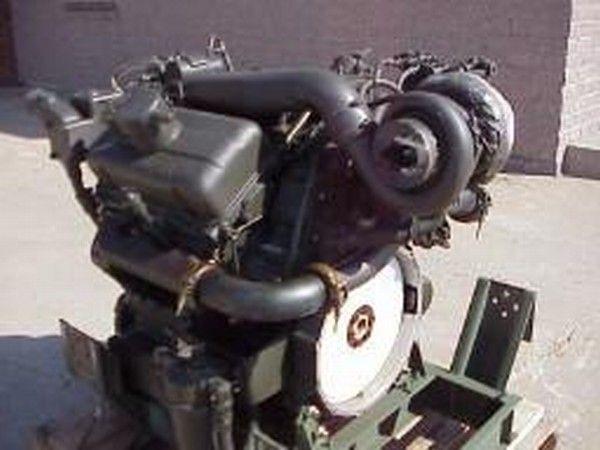 Motor für Detroit 6V53T Bagger