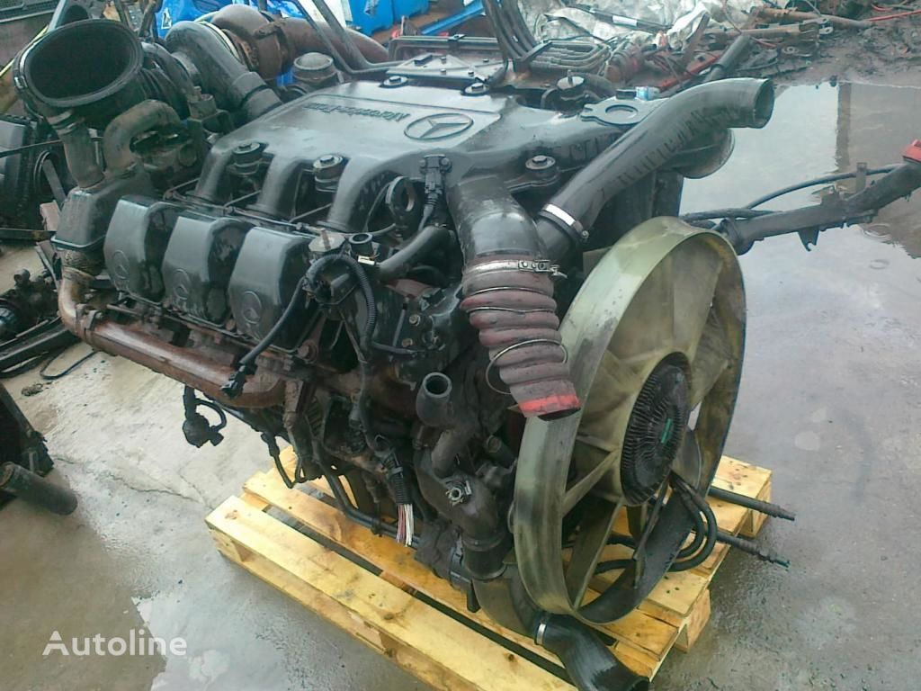 Motor für MERCEDES-BENZ OM 501 LA V6 glowica blok pompa LKW