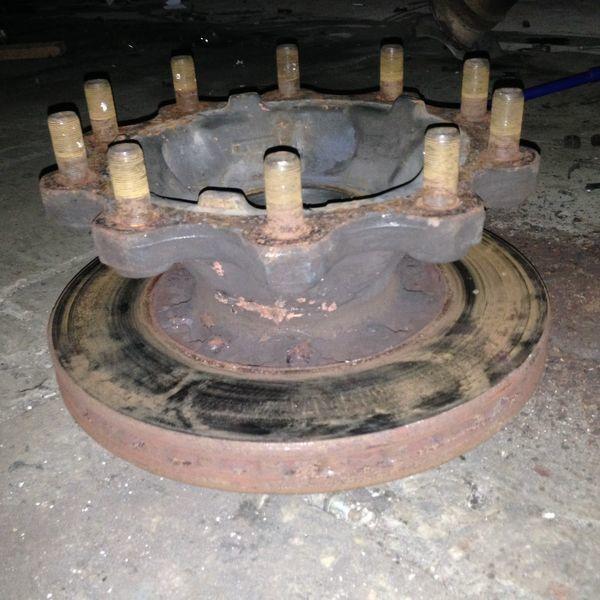 Radnabe für DAF XF95/105 Sattelzugmaschine
