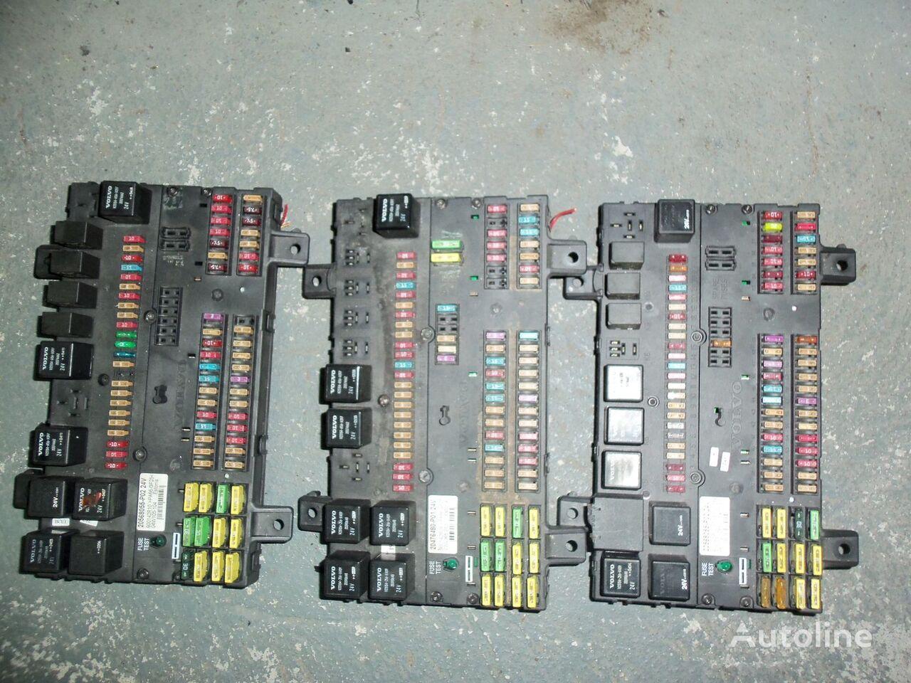 VOLVO FH13 fuse and relay center, central electrical box 20568055, 21732199 Sicherungskasten für VOLVO FH13 Sattelzugmaschine