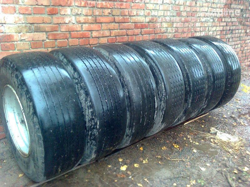 Stahlfelge für Auflieger