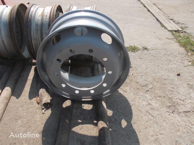 9h22,5 Stahlfelge für Sattelzugmaschine