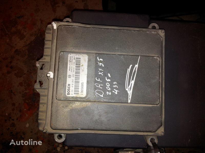 DAF 95XF, 85LF, 75LF, EURO3 ECU EDC engine control BOSH 0281010045; 1365685, 1684367, 1679021 Steuereinheit für DAF 95XF Sattelzugmaschine