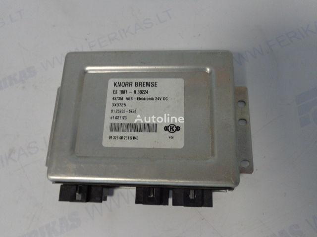 KNORR BREMSE 4S/3M ABS-Elektronik Steuereinheit für MAN Sattelzugmaschine