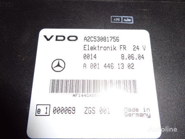 Mercedes Benz Actros MP2, MP3, MP4, FR control unit ECU 0014461302, 0004465502, 0004466602, 0014461002, 0014461302, 0014461502, 0014461102, 0014464302, 0024460202, 0024463202, 0024461302, 0024462902, 0024463402, 0034463502, 0024463402, 0034463502, 0024465002 Steuereinheit für MERCEDES-BENZ Actros Sattelzugmaschine