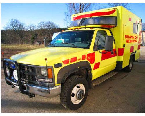 CHEVROLET WD Feuerwehrauto
