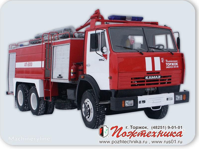 KAMAZ AP-5000 Avtomobil poroshkovogo tusheniya Feuerwehrauto