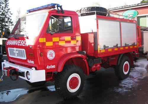 MAN 8.150, 4x4 WD Feuerwehrauto