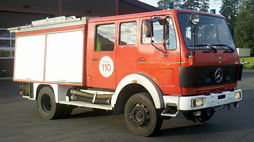 MERCEDES-BENZ 1019-AF, 4x4 WD Feuerwehrauto