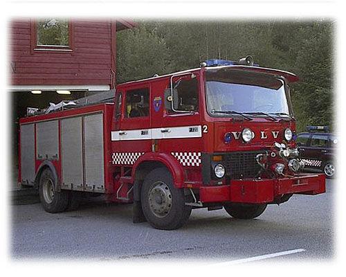 VOLVO F-720 Feuerwehrauto