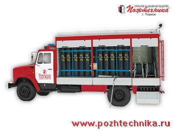 ZIL AGT-1 Avtomobil gazovogo tusheniya    Feuerwehrauto
