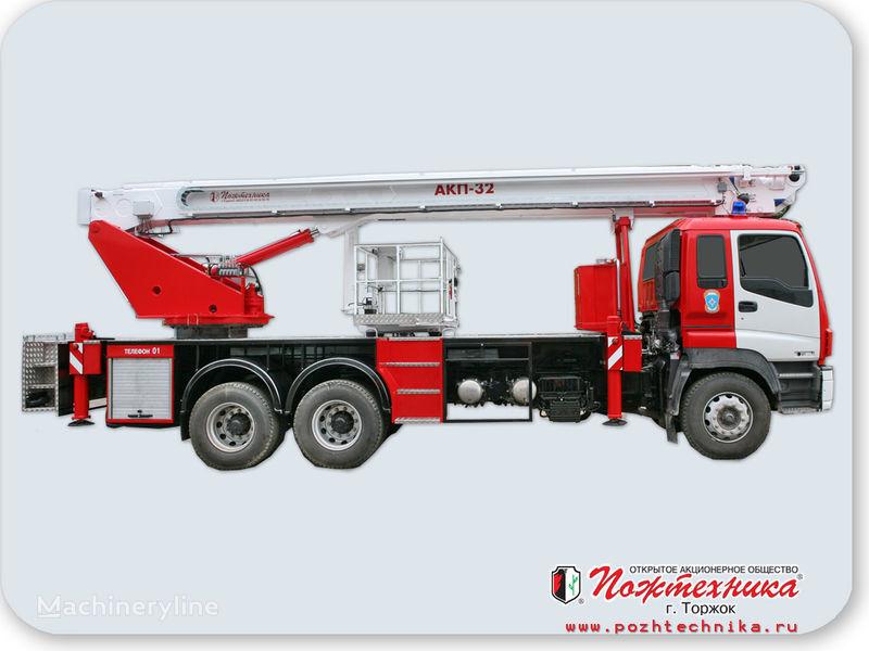 ISUZU AKP-32 Feuerwehrleiter