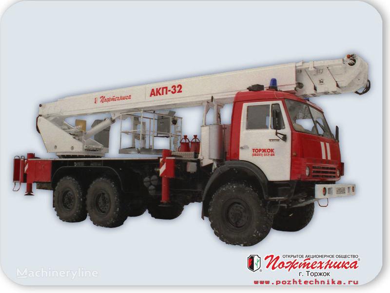 KAMAZ AKP-32 Feuerwehrleiter